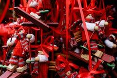 Innsbruck-Weihnachtsmärkte Stockfoto