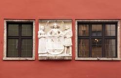 Innsbruck windows, Austria, Tyrol Stock Photo