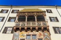 Innsbruck Złoty dach Obraz Royalty Free
