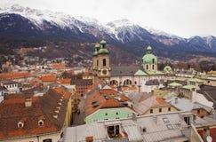 Innsdruck,奥地利,提洛尔 免版税库存照片