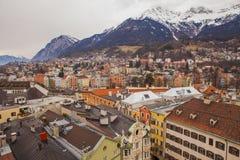 Innsdruck, Oostenrijk, Tirol Stock Afbeelding