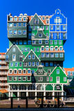 Inntel旅馆在赞丹荷兰 库存图片