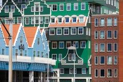 Inntel旅馆在赞丹,荷兰 免版税库存图片