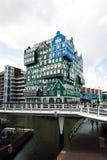 Inntel旅馆大厦在赞丹,荷兰 库存图片
