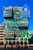 Inntel hotell i Zaandam Nederländerna fotografering för bildbyråer