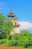 Innwa Nanmyin torn, Innwa, Myanmar Fotografering för Bildbyråer