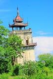 Innwa Nanmyin torn, Innwa, Myanmar Arkivbilder