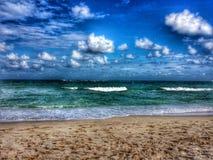 Inny plażowy brzeg zdjęcie stock