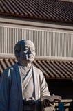 Ino Tadataka statue in Sawara, Katori, Chiba royalty free stock photo