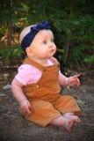 Inocencia del bebé Fotografía de archivo libre de regalías
