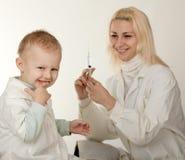 Inoculación Imagenes de archivo