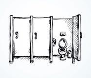 Inodoro Gráfico del vector libre illustration