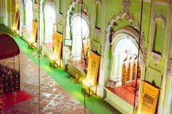 Inom av bhoolbhulaiyakomplexet i baraimambaraen lucknow royaltyfri foto