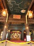Inom av den imperialistiska staden är den tidigare huvudstaden av Vietnam Tra arkivfoto