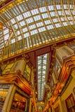 Inom av den Leadenhall marknaden London Royaltyfri Bild