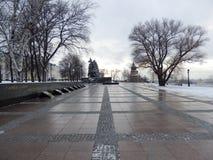 Inom av den Nijni Novgorod Kreml royaltyfria foton