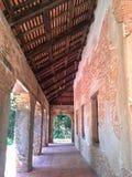 Inom av gammalt kapell Songkhla, Thailand Royaltyfria Bilder
