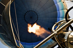 Inom ballongen fotografering för bildbyråer