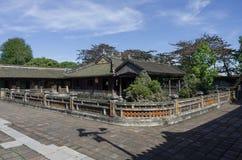 Inom citadellen Imperialistiska Forbidden City Royaltyfri Fotografi