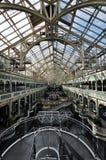 Inom den mest berömda kommersiella mitten i Dublin Arkivbilder