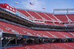 Inom den nya stadion för Levi ` s Santa Clara, Kalifornien Arkivfoton