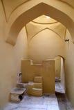 Inom den turkiska bathhousen för ottoman på ön av Kos i Grekland Royaltyfri Fotografi
