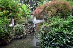 Inom den Yu trädgården i Shanghai Royaltyfri Fotografi
