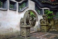 Inom den Yu trädgården i Shanghai Royaltyfri Foto