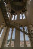 Inom det Klocka tornet i splittring Fotografering för Bildbyråer