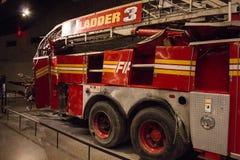 Inom det September 11th museet royaltyfria foton