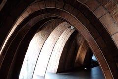 Inom en Gaudà arkivfoto