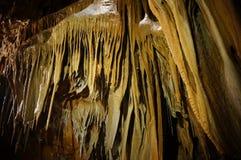 Inom en grotta Fotografering för Bildbyråer