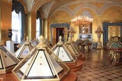 Inom eremitboningen i St Petersburg Royaltyfri Foto