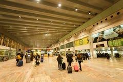 Inom flygplatsen för El Prat Barcelona Royaltyfri Bild