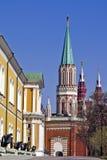 Inom Kreml Moskva Royaltyfri Foto
