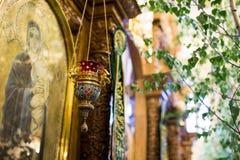 Inom kyrkan av Treenighet Royaltyfri Fotografi