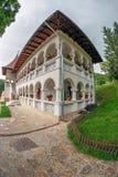 Inom området som är hängivet till den Prislop kloster, Rumänien Royaltyfria Bilder