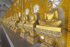 Inom pagodfärggulden Arkivfoto