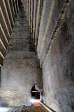 inom pyramidred Royaltyfri Bild