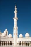 Inom sheikhen Zayed Moské i Abu Dhabi Royaltyfri Fotografi