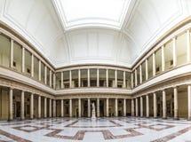 Inom slotten av rättvisa med domstolen i Aixen provence Royaltyfria Bilder