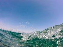 Inom vattnet royaltyfria foton