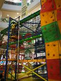 Inomhus barns utvecklingutbildningscentrum Arkivfoton