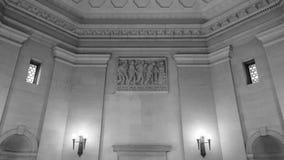 Inomhus BW Hall av byggnad för minnesmärke för minnesBirmingham krig Royaltyfria Foton