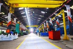 Inomhus industy fabrik för metall Royaltyfria Foton