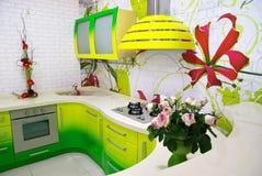 inomhus kök för designelement Royaltyfria Foton