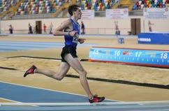 Inomhus konkurrens för turkisk idrotts- ingång för federation olympisk Royaltyfri Fotografi