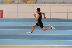 Inomhus konkurrens för turkisk idrotts- ingång för federation olympisk Royaltyfri Bild