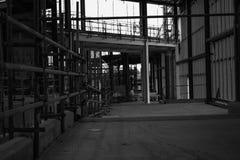 Inomhus konstruktion Royaltyfri Fotografi
