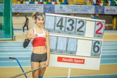 Inomhus koppmästerskap i Istanbul - Turkiet Royaltyfri Fotografi